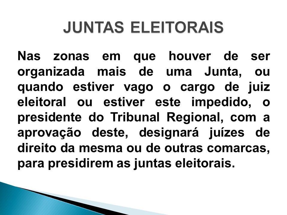 JUNTAS ELEITORAIS