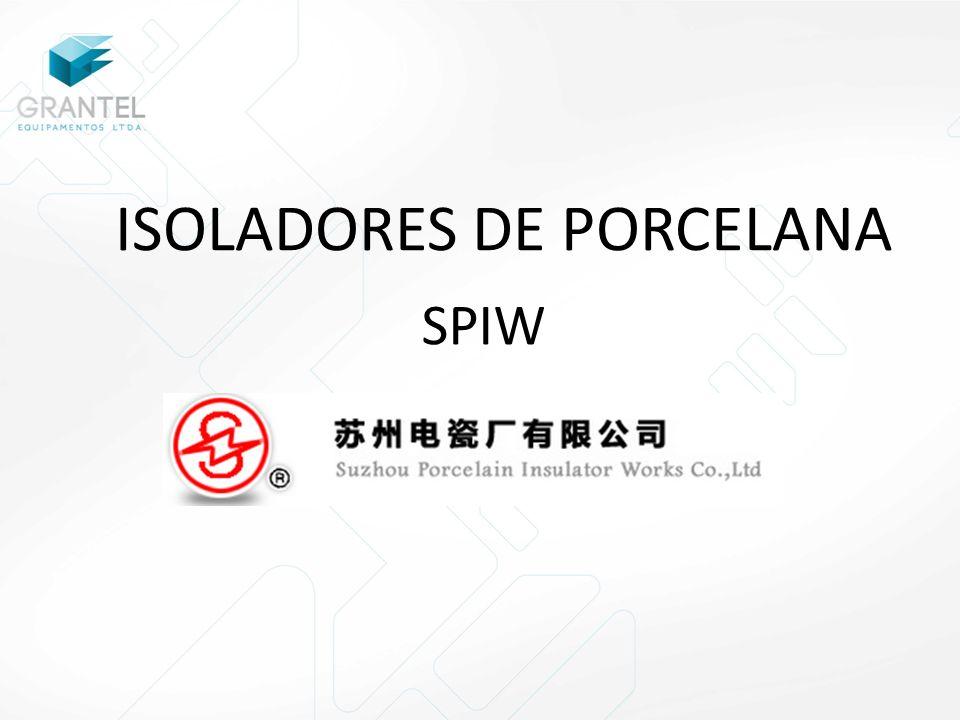 ISOLADORES DE PORCELANA