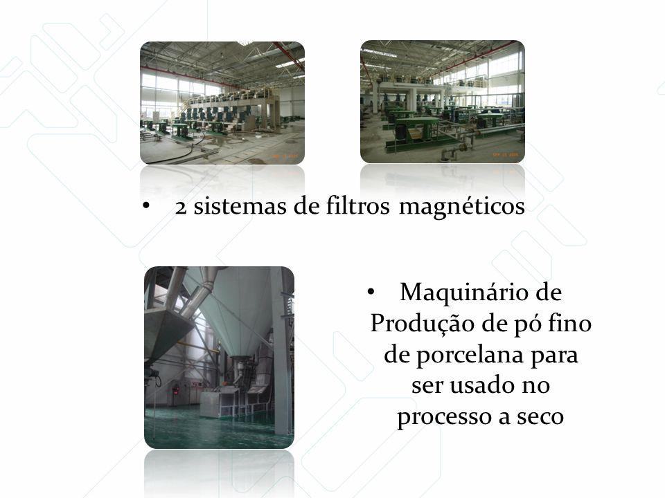 2 sistemas de filtros magnéticos