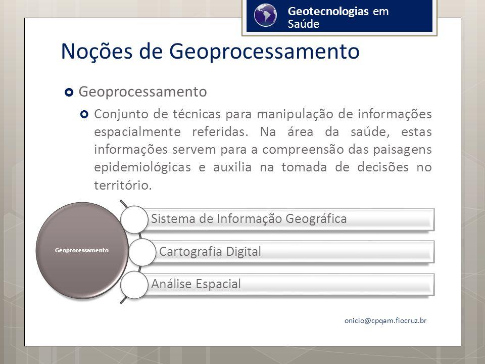 Noções de Geoprocessamento