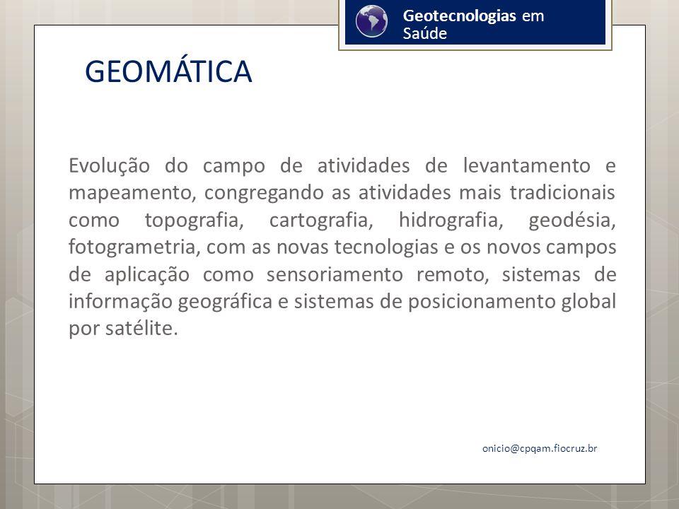 Geotecnologias em Saúde