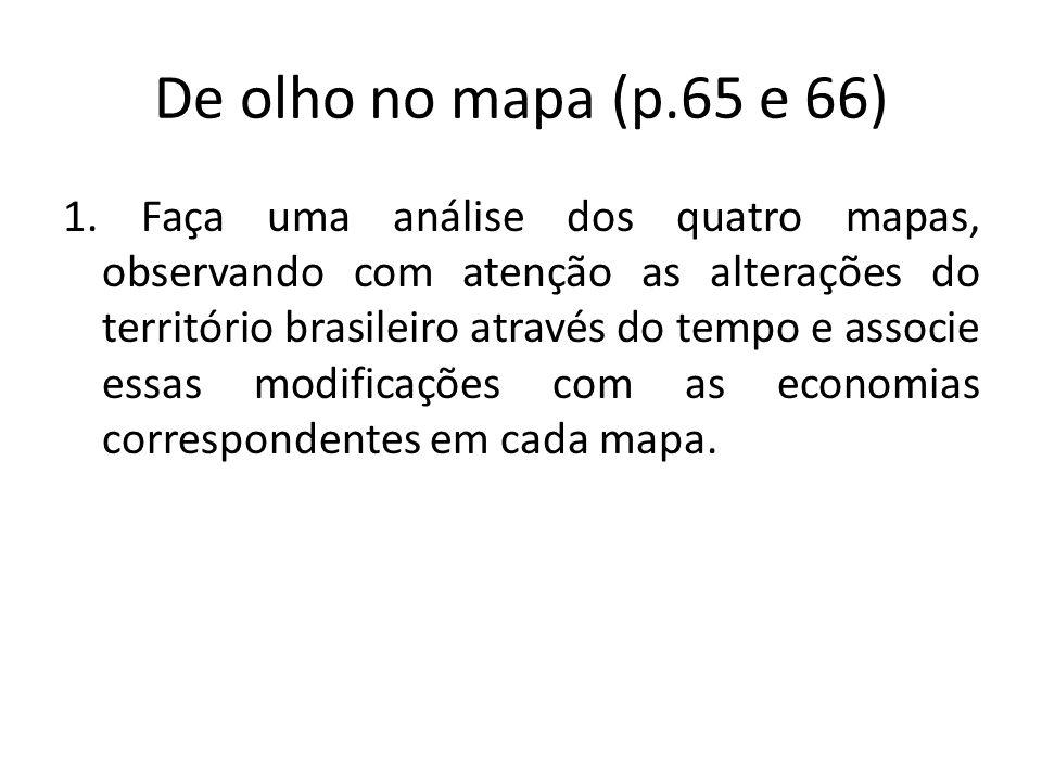 De olho no mapa (p.65 e 66)