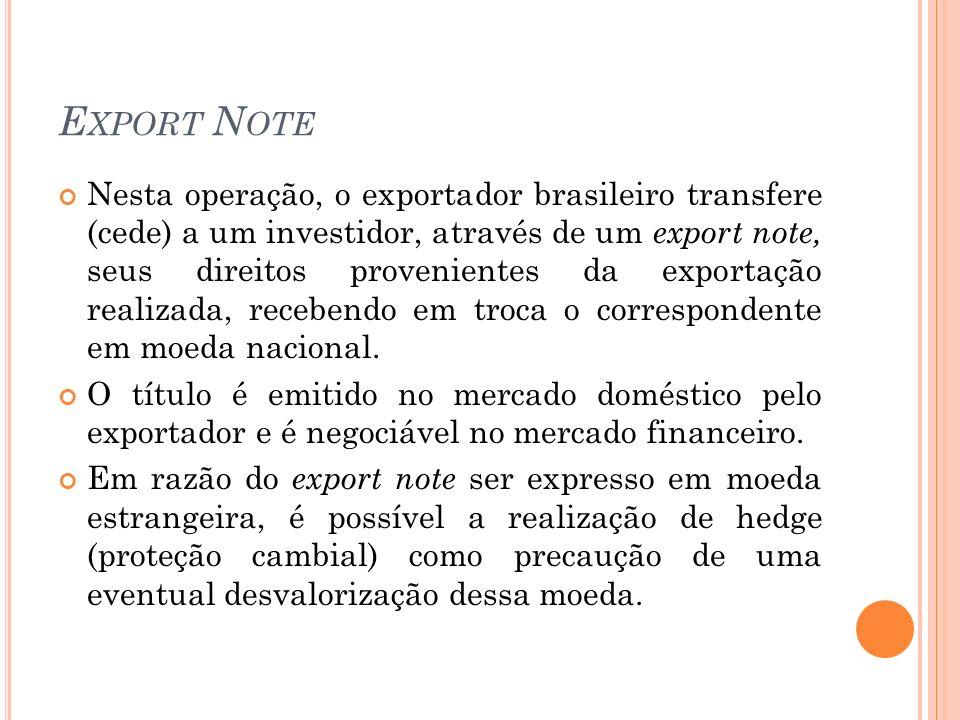Export Note