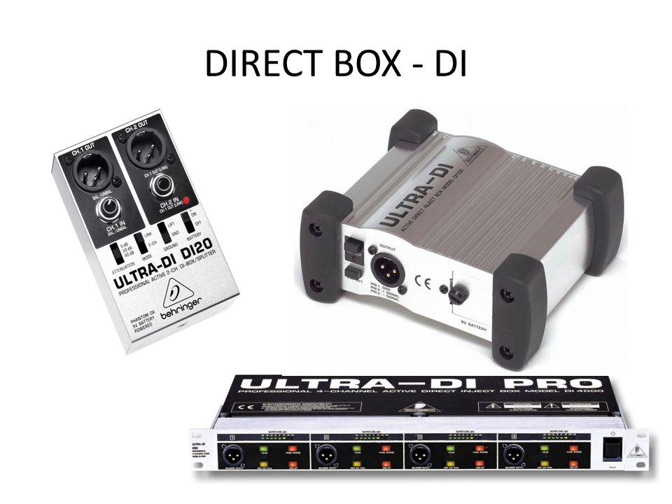 DIRECT BOX - DI