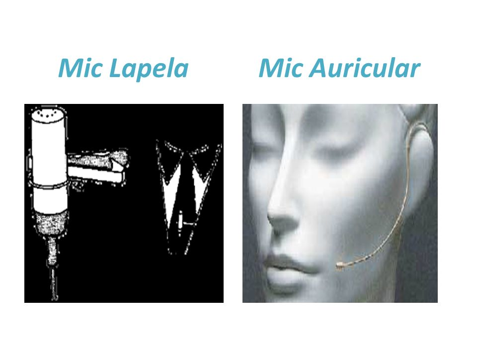 Mic Lapela Mic Auricular