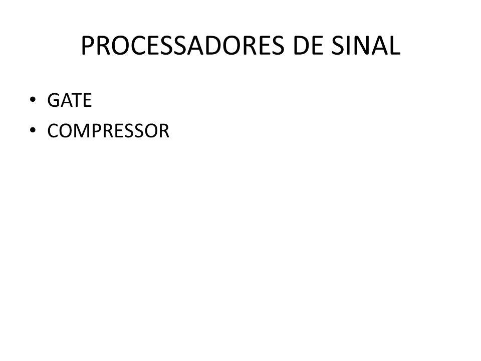 PROCESSADORES DE SINAL