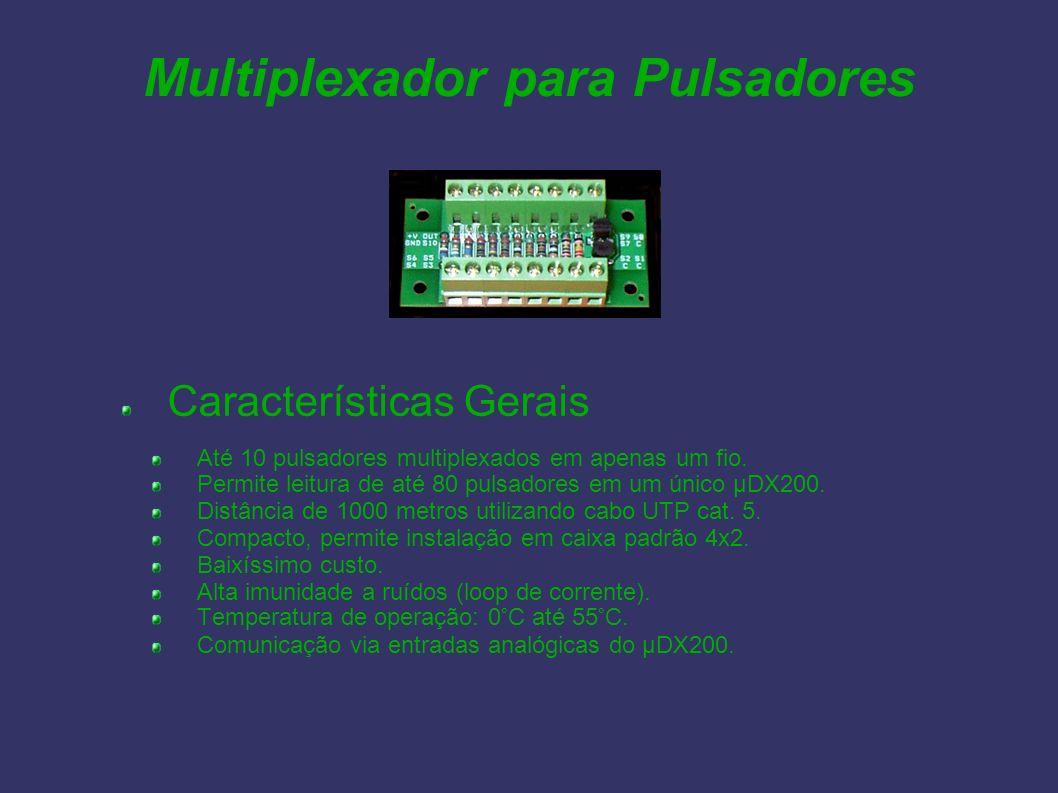 Multiplexador para Pulsadores
