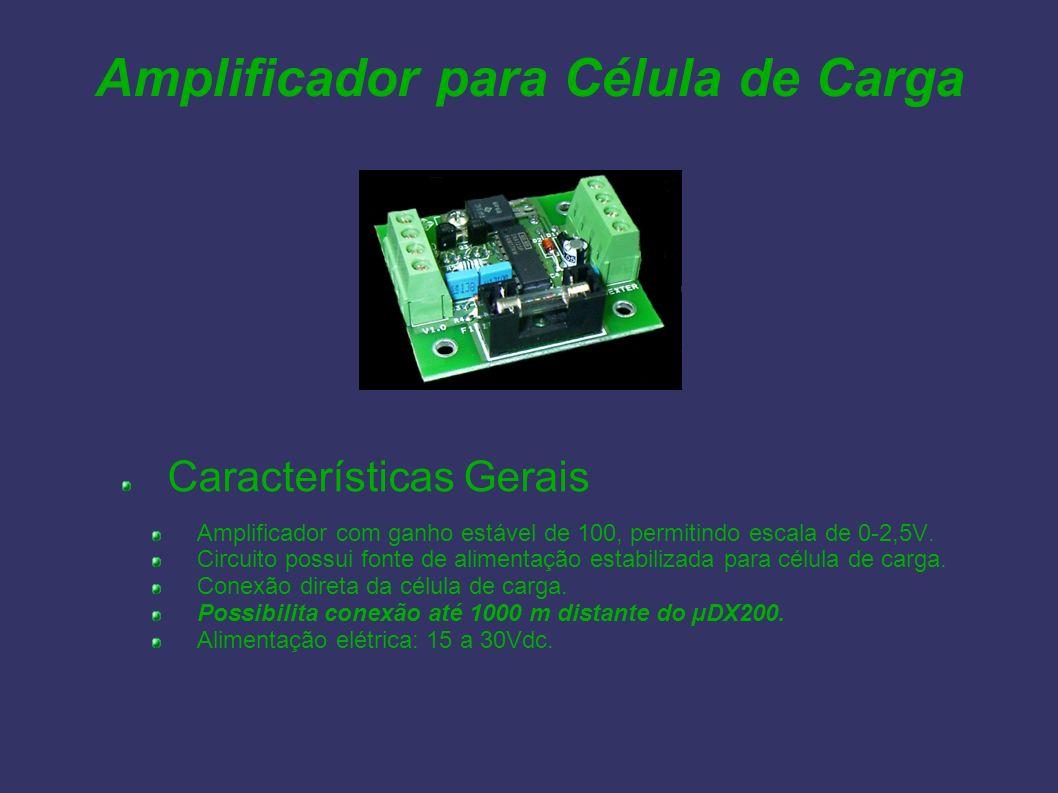 Amplificador para Célula de Carga