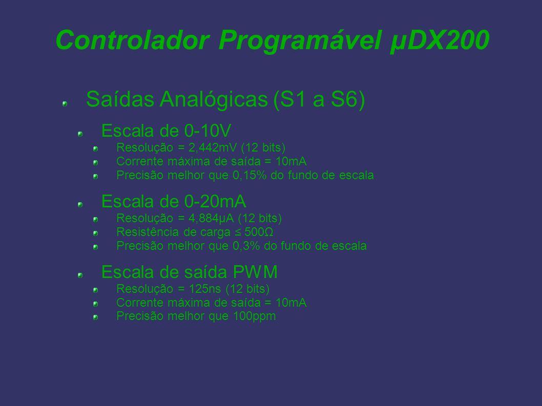 Controlador Programável µDX200
