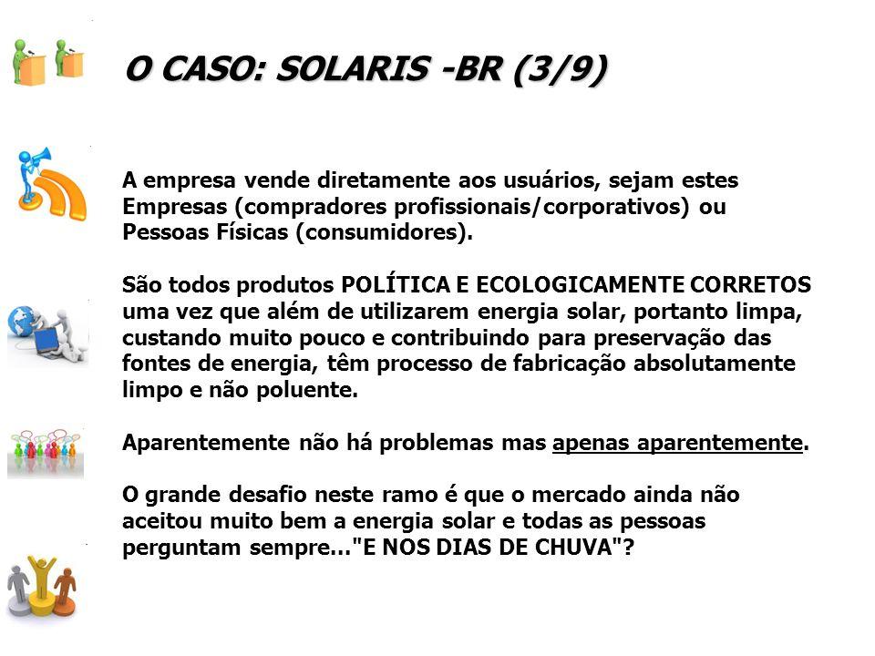 O CASO: SOLARIS -BR (3/9)