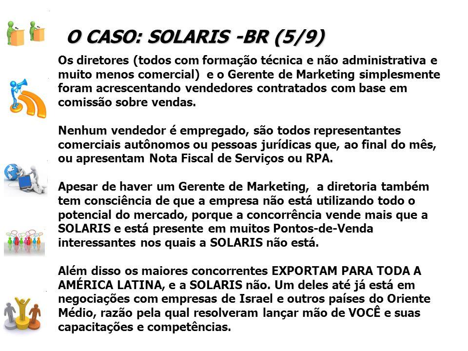 O CASO: SOLARIS -BR (5/9)