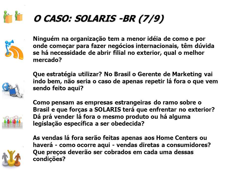 O CASO: SOLARIS -BR (7/9)