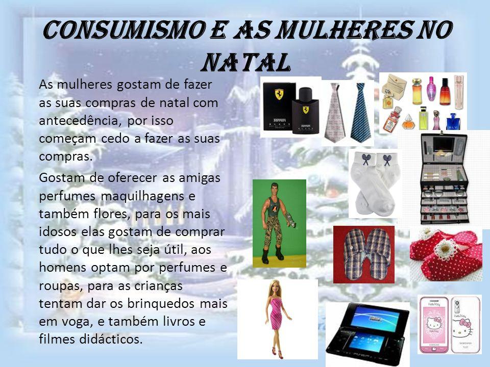 Consumismo e as mulheres no Natal