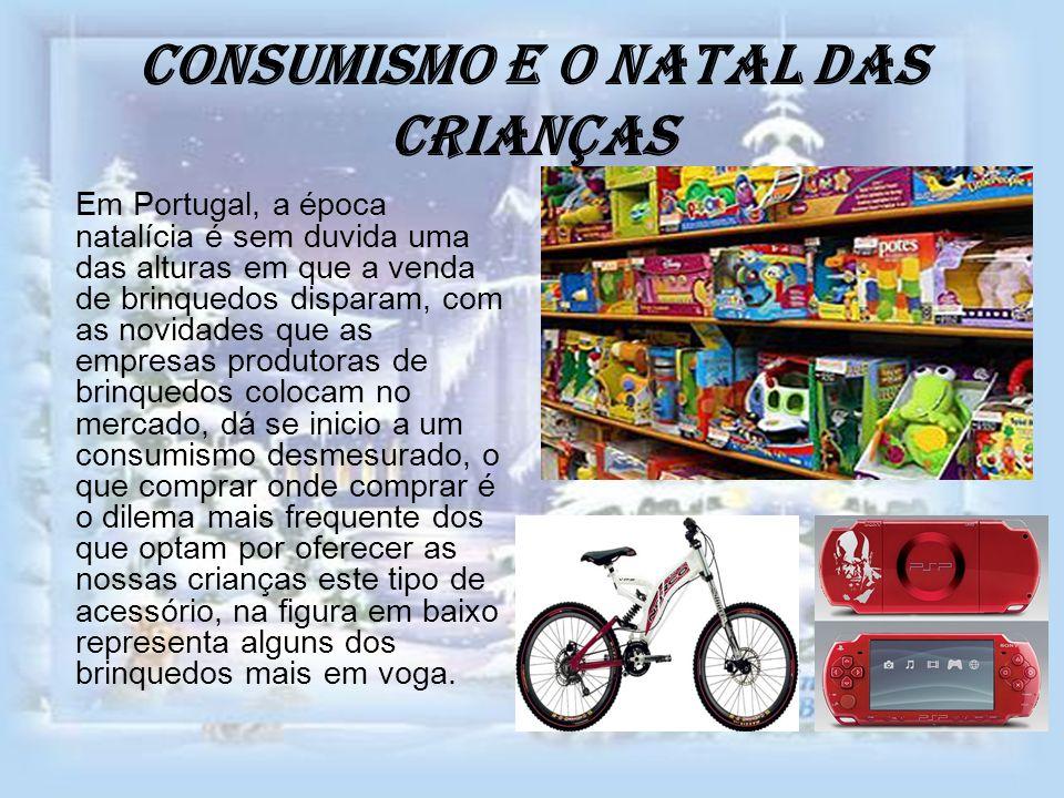 Consumismo e o natal das Crianças