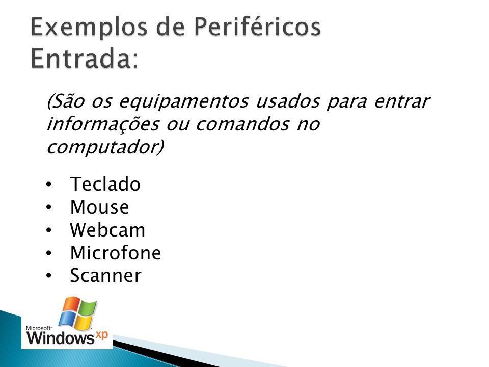 Exemplos de Periféricos Entrada: