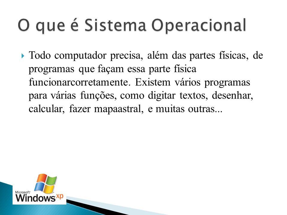 O que é Sistema Operacional