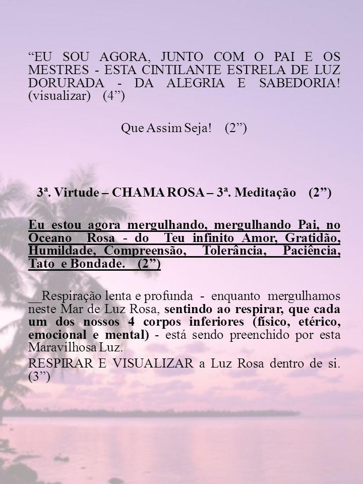 3ª. Virtude – CHAMA ROSA – 3ª. Meditação (2 )