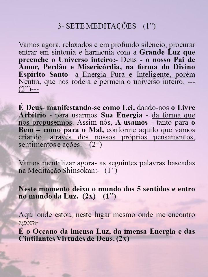 3- SETE MEDITAÇÕES (1 )
