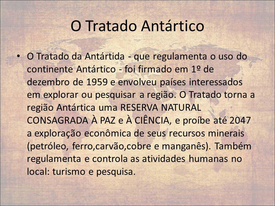 O Tratado Antártico