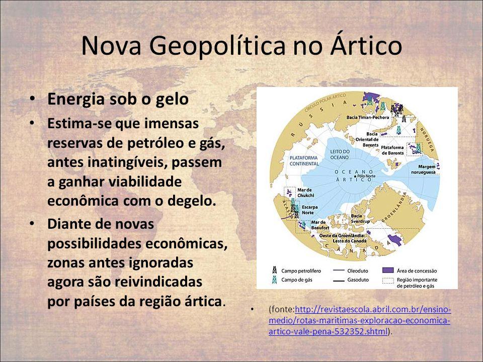 Nova Geopolítica no Ártico
