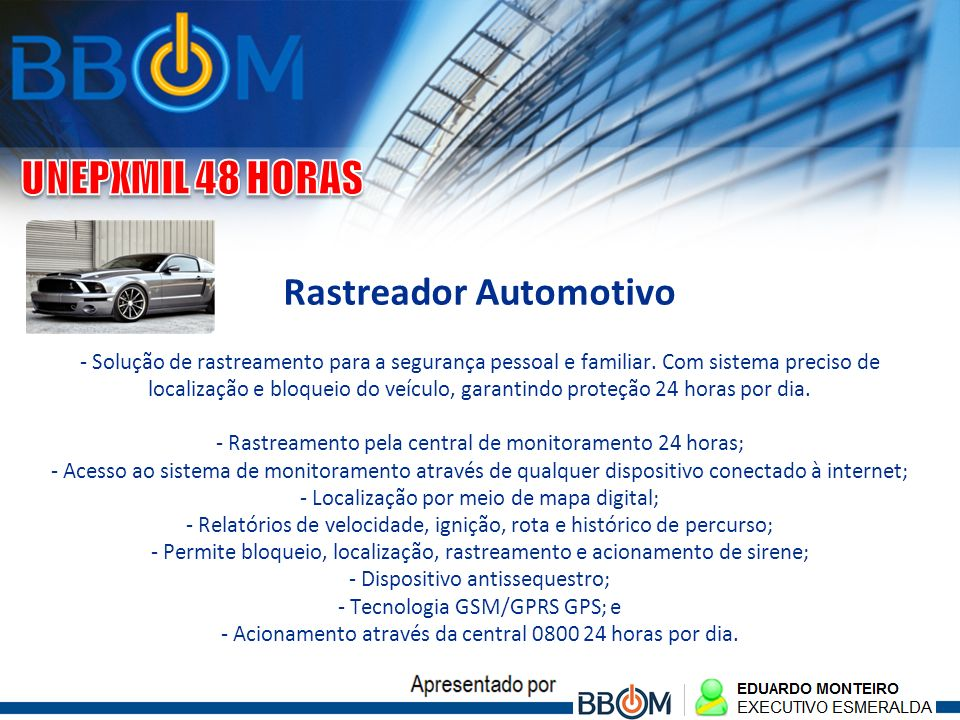 Rastreador Automotivo