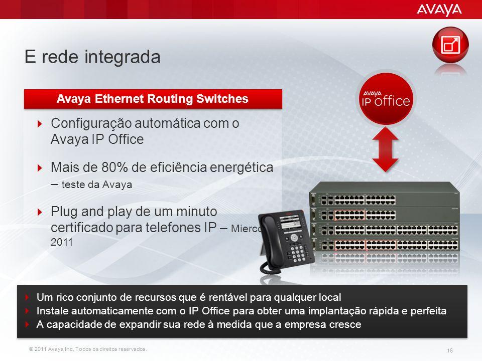 Avaya Ethernet Routing Switches