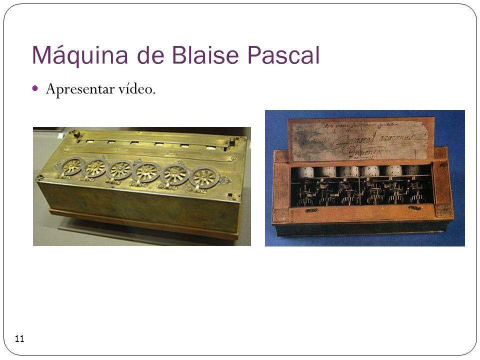 Máquina de Blaise Pascal