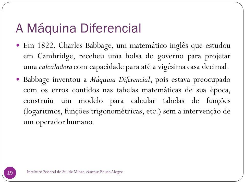 A Máquina Diferencial