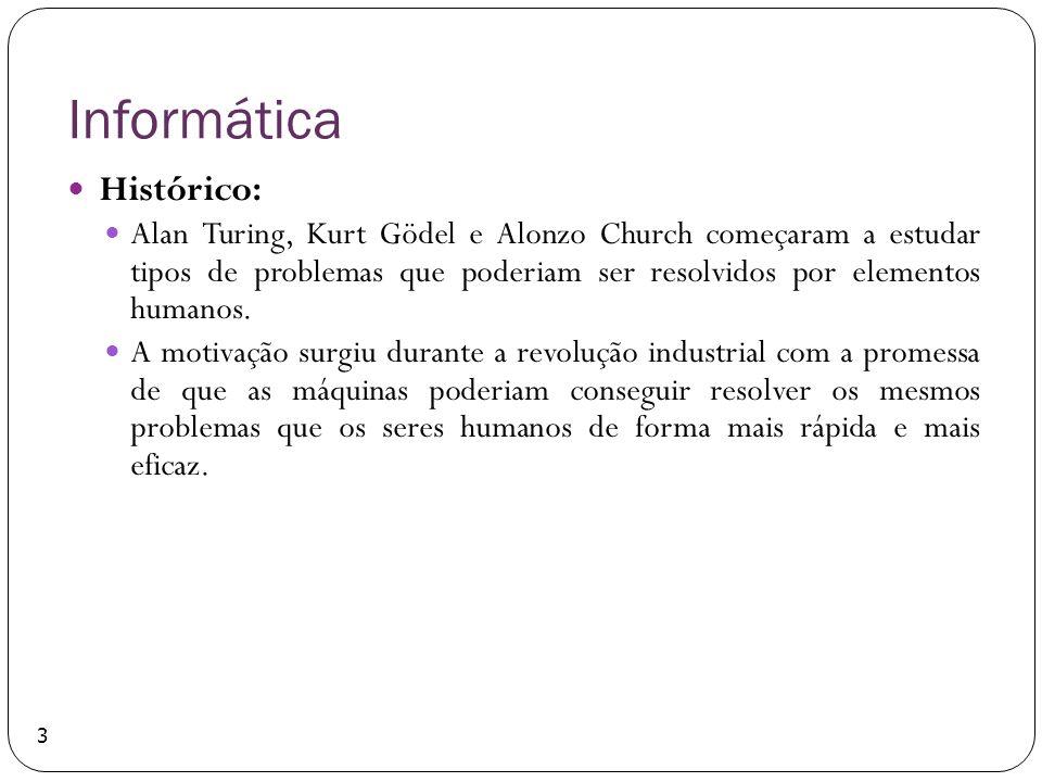 Informática Histórico: