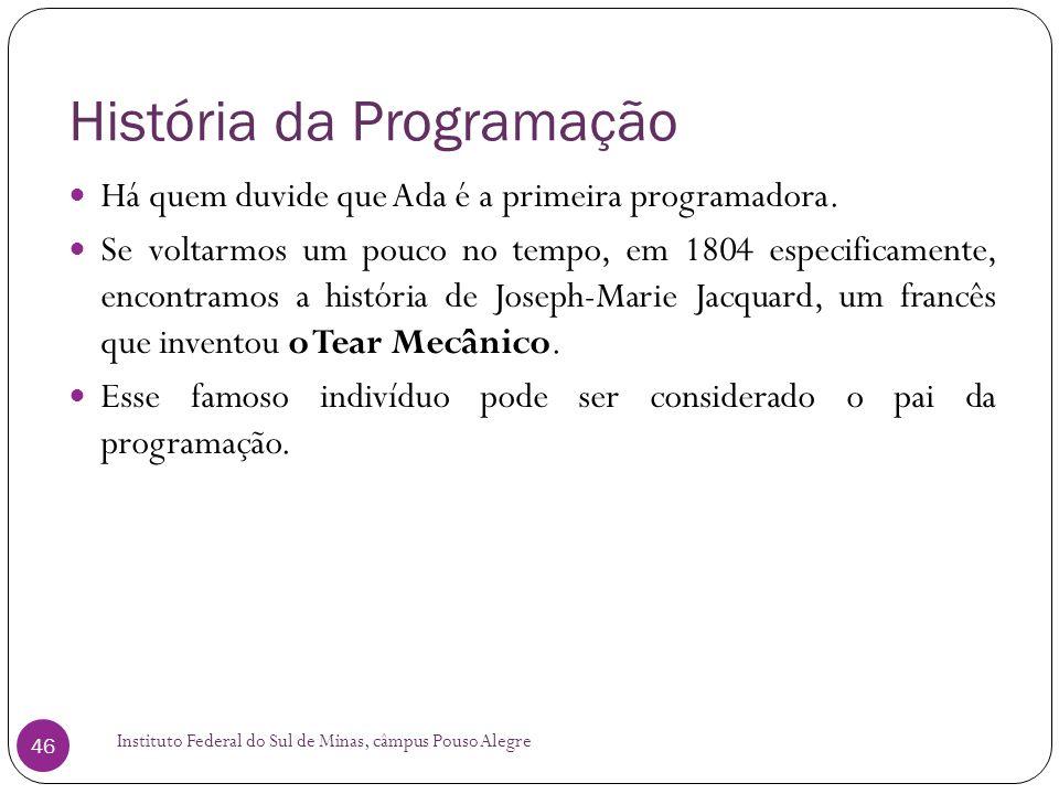 História da Programação