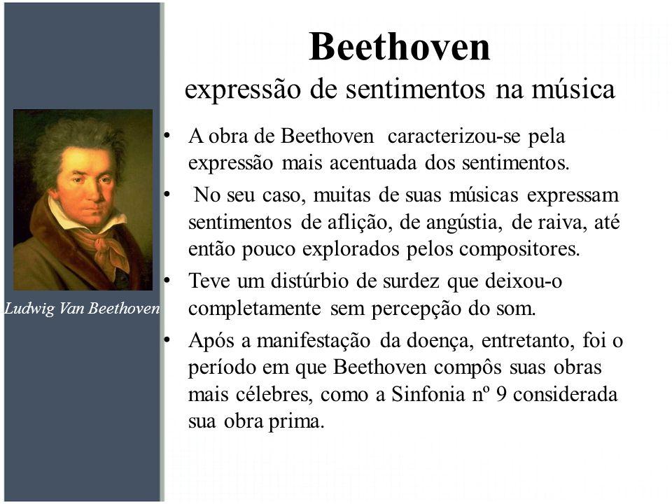 Beethoven expressão de sentimentos na música