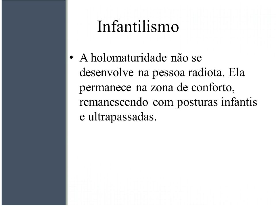 Infantilismo