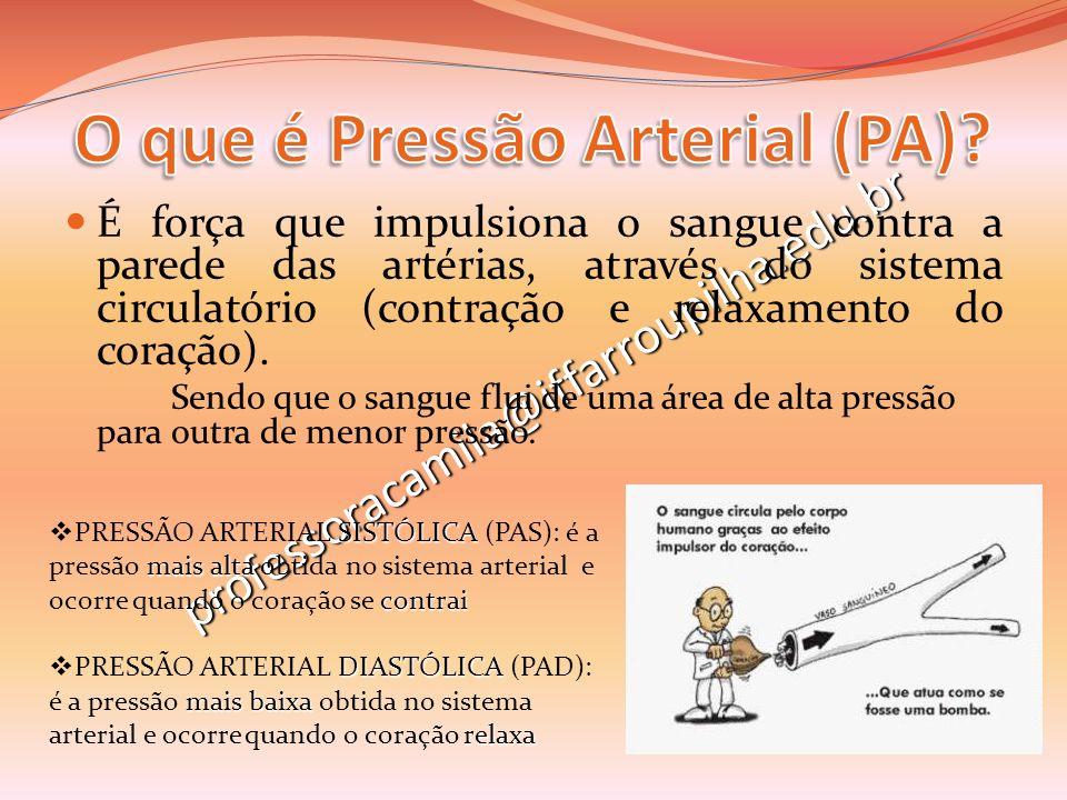 O que é Pressão Arterial (PA)