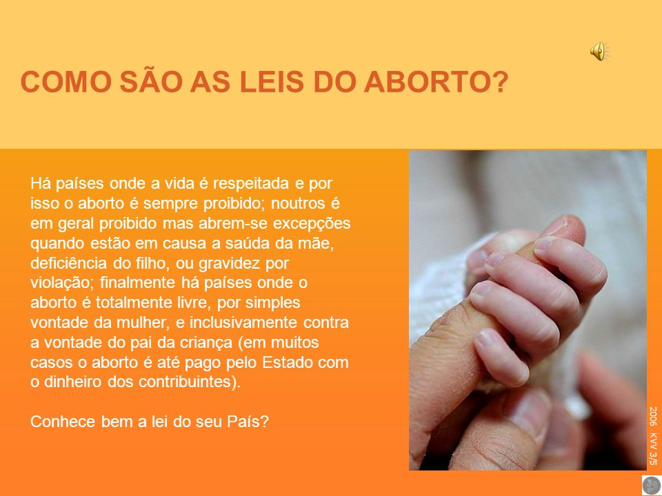 COMO SÃO AS LEIS DO ABORTO