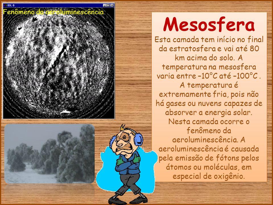 Resultado de imagem para mesosfera