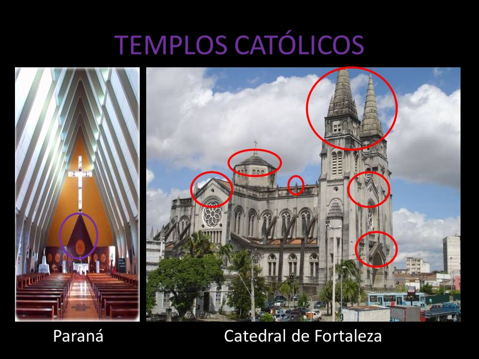 TEMPLOS CATÓLICOS Paraná Catedral de Fortaleza