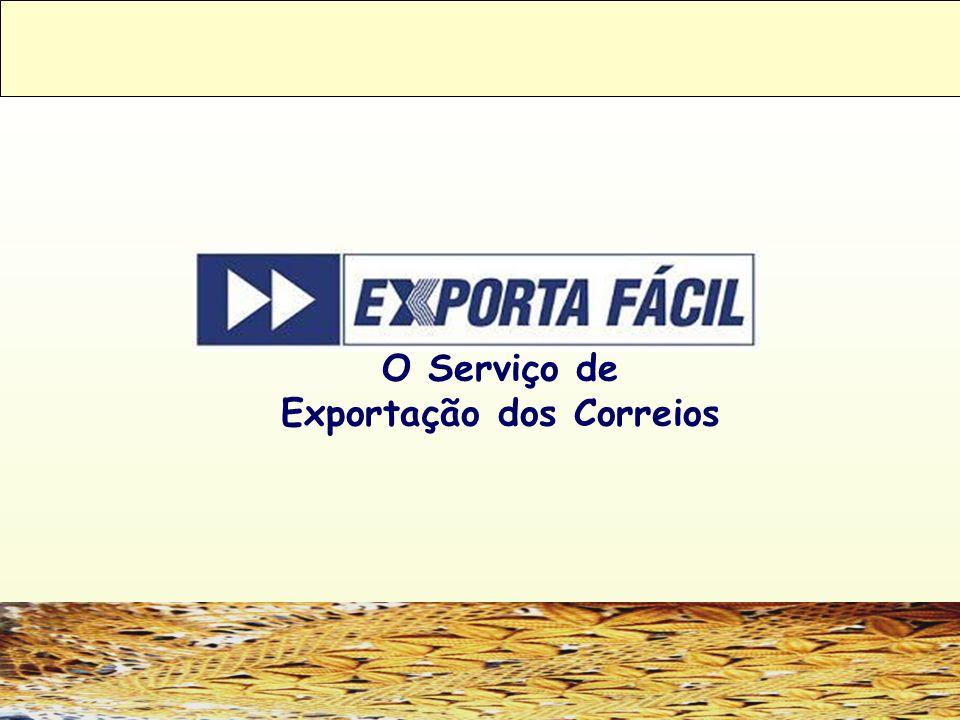O Serviço de Exportação dos Correios