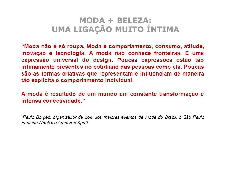 MODA + BELEZA: UMA LIGAÇÃO MUITO ÍNTIMA