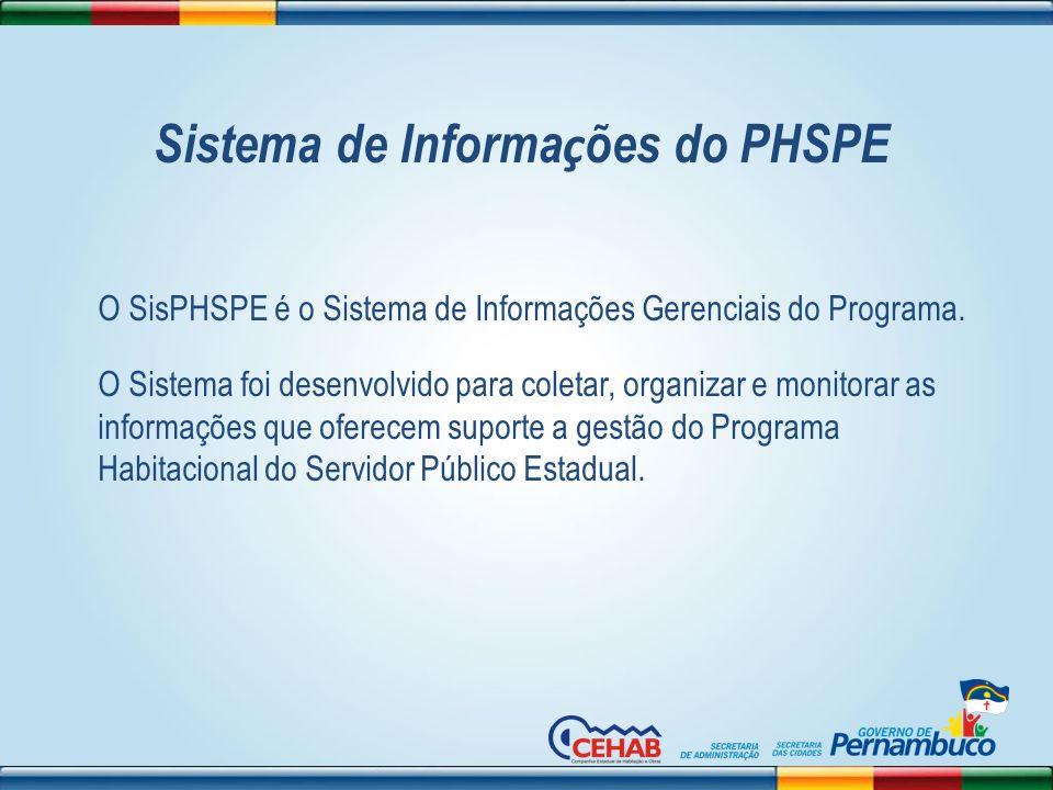 Sistema de Informações do PHSPE