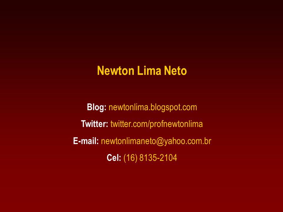 Newton Lima Neto Blog: newtonlima.blogspot.com