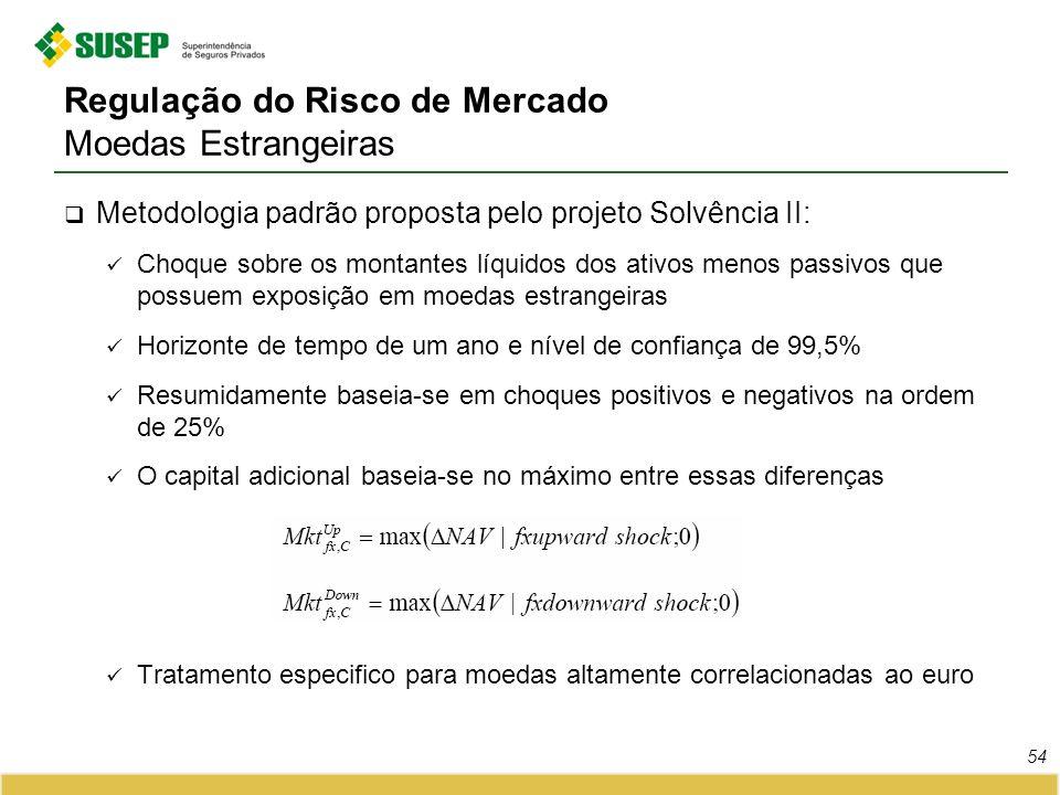 Regulação do Risco de Mercado Moedas Estrangeiras