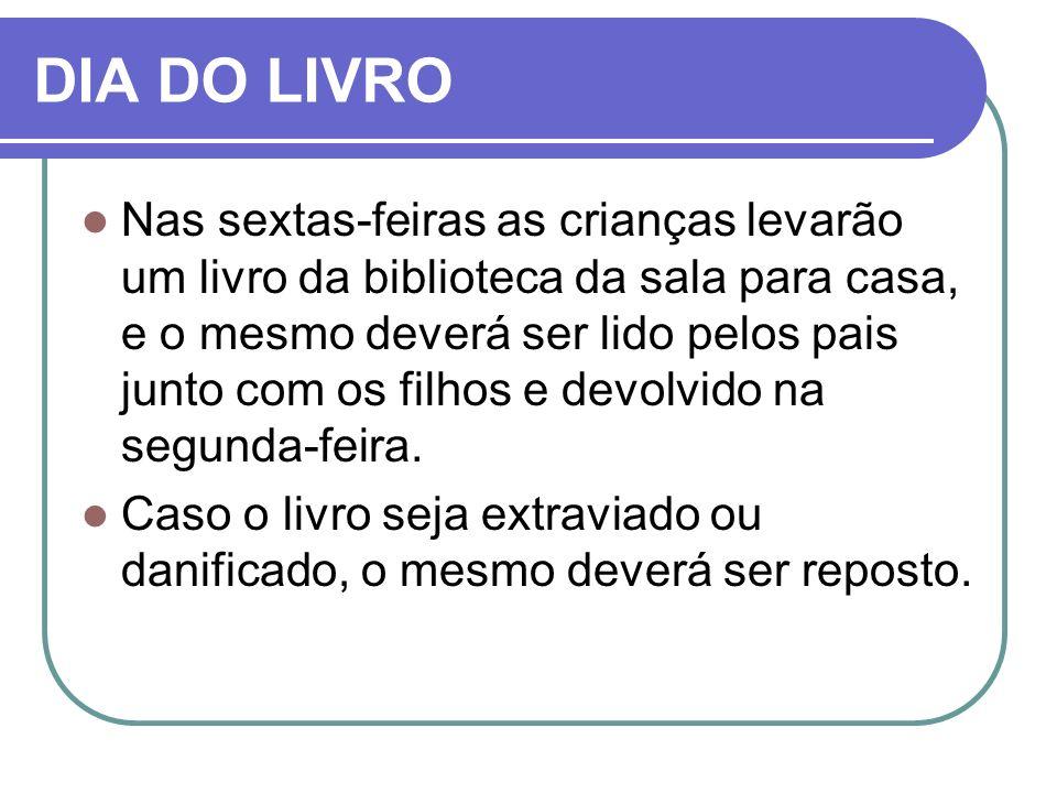 DIA DO LIVRO