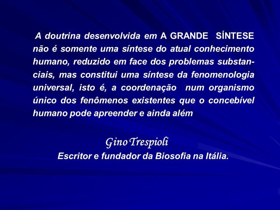 Escritor e fundador da Biosofia na Itália.