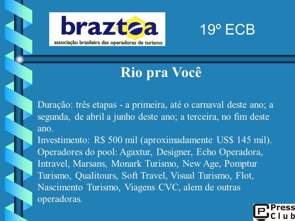 19º ECB Rio pra Você.