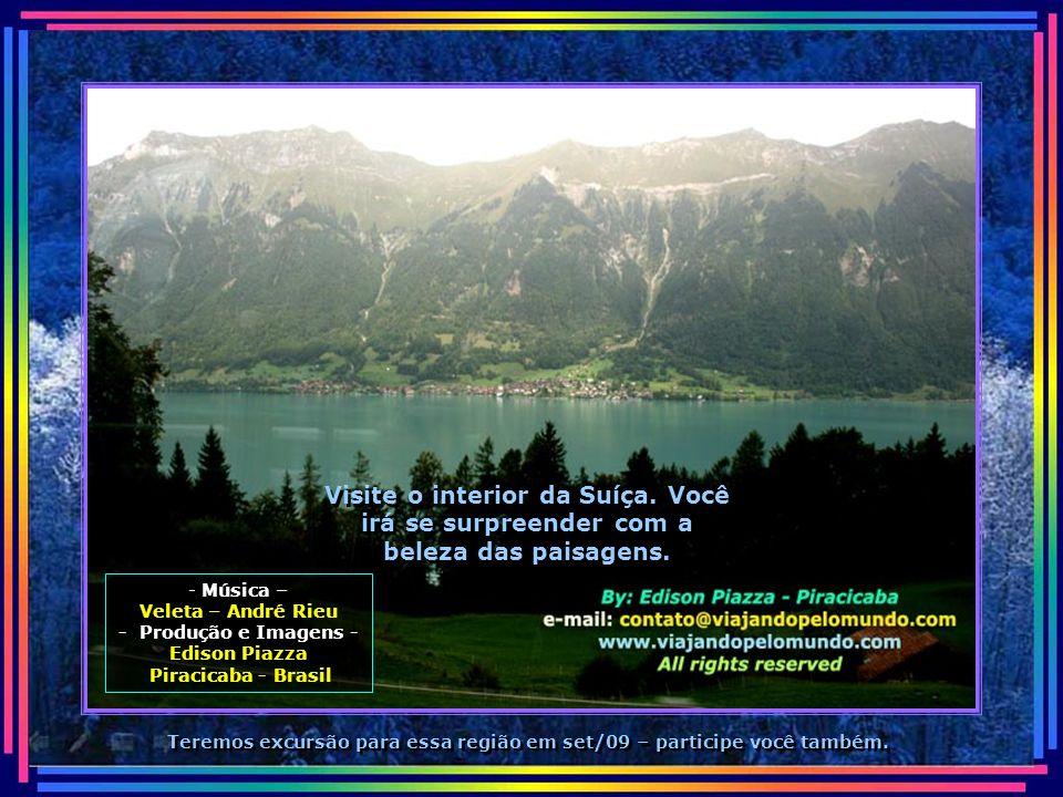 Visite o interior da Suíça
