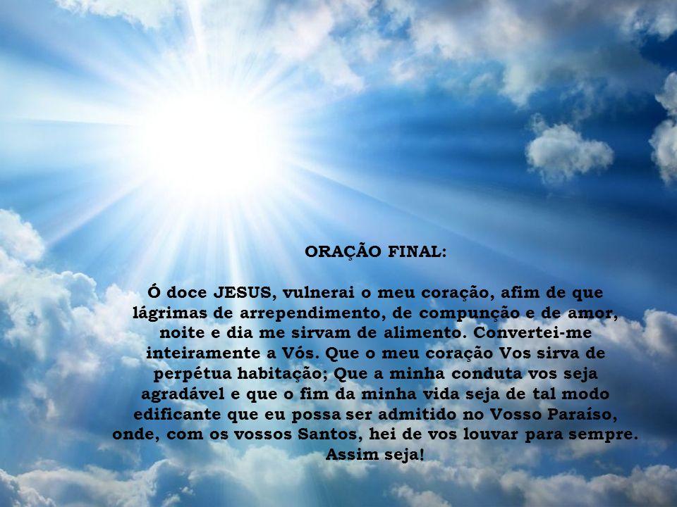 ORAÇÃO FINAL: