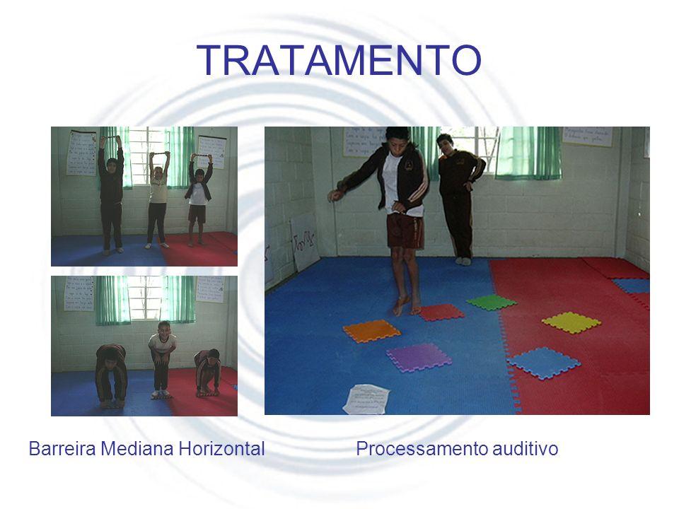 TRATAMENTO Barreira Mediana Horizontal Processamento auditivo