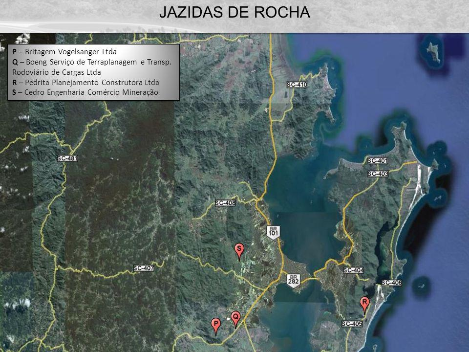 JAZIDAS DE ROCHA P – Britagem Vogelsanger Ltda