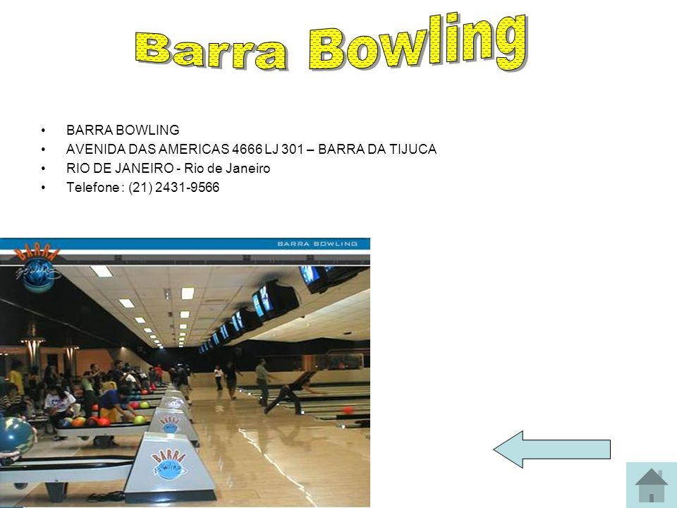 Barra Bowling BARRA BOWLING