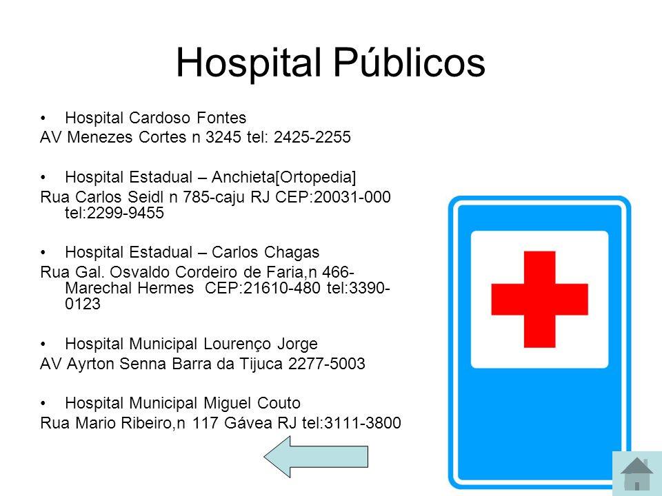 Hospital Públicos Hospital Cardoso Fontes
